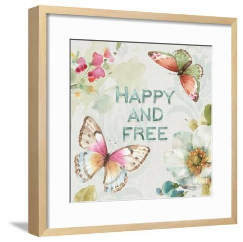 Colorful Breeze III-Lisa Audit-Framed Art Print