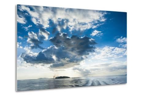 Dramatic Clouds at Sunset over the Mamanucas Islands, Fiji, South Pacific-Michael Runkel-Metal Print