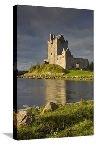 Dunguaire Castle Near Kinvara, County Galway, Republic of Ireland-Brian Jannsen-Stretched Canvas Print
