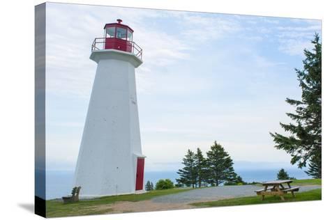 Canada, Cape George, Nova Scotia, Antigonish, Cape George Lighthouse-Bill Bachmann-Stretched Canvas Print