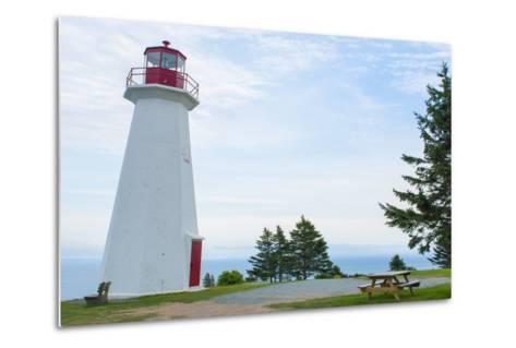 Canada, Cape George, Nova Scotia, Antigonish, Cape George Lighthouse-Bill Bachmann-Metal Print