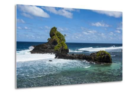 East Coast of Tutuila Island, American Samoa, South Pacific-Michael Runkel-Metal Print