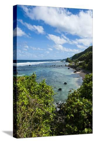 East Coast of Tutuila Island, American Samoa, South Pacific-Michael Runkel-Stretched Canvas Print