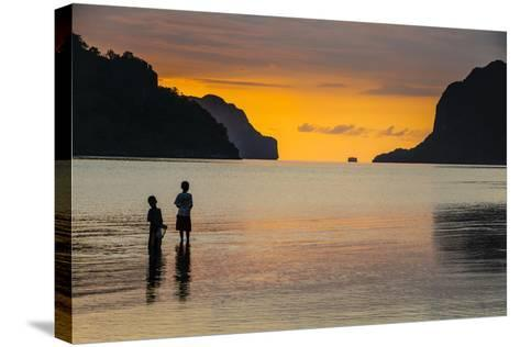 Bacuit Archipelago, Palawan, Philippines-Michael Runkel-Stretched Canvas Print