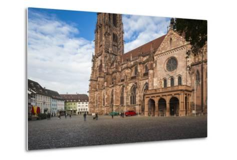Baden-Wurttemburg, Black Forest, Old Town, 11th Century Munster Cathedral-Walter Bibikow-Metal Print