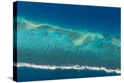 Aerial of Tonga, South Pacific-Michael Runkel-Stretched Canvas Print