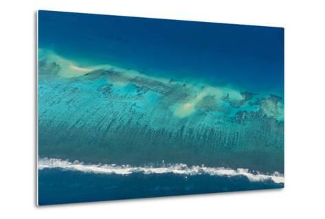Aerial of Tonga, South Pacific-Michael Runkel-Metal Print