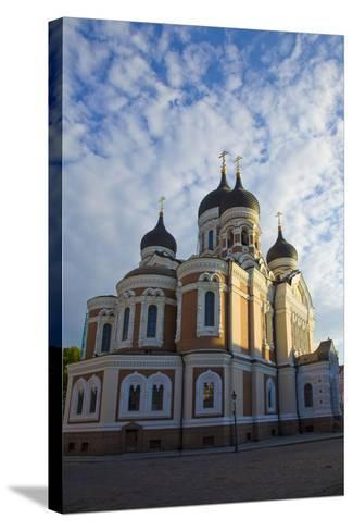 Estonia, Tallinn. View of Alexander Nevsky Cathedral-Jaynes Gallery-Stretched Canvas Print