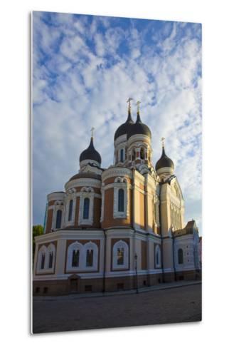 Estonia, Tallinn. View of Alexander Nevsky Cathedral-Jaynes Gallery-Metal Print