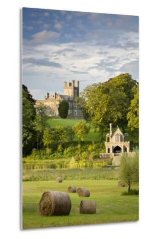 Crom Castle, Ancestral Home to Lord Erne and the Crichton Family, County Fermanagh-Brian Jannsen-Metal Print