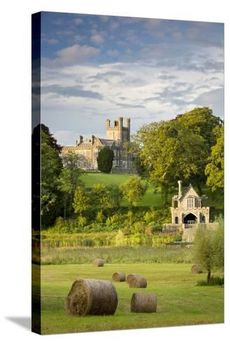 Crom Castle, Ancestral Home to Lord Erne and the Crichton Family, County Fermanagh-Brian Jannsen-Stretched Canvas Print