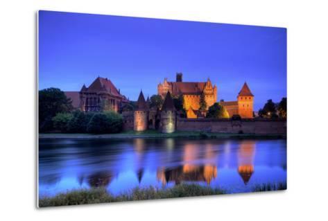 Europe, Poland, Malbork. Medieval Malbork Castle-Jaynes Gallery-Metal Print