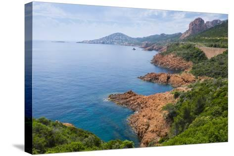 France, the Cote D'Azur, Is the Mediterranean Coastline of the Se Corner of France-Emily Wilson-Stretched Canvas Print