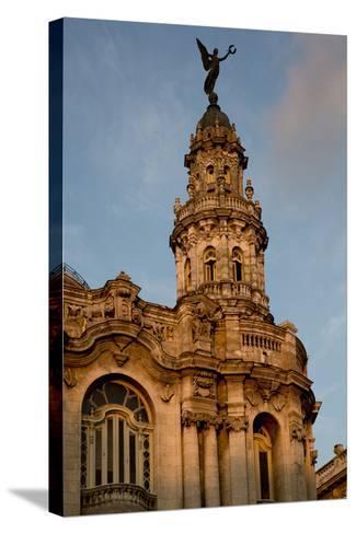 Cuba, Havana, Historic Building-John and Lisa Merrill-Stretched Canvas Print