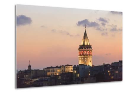 Galata Tower. Istanbul. Turkey-Tom Norring-Metal Print