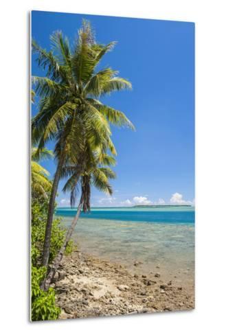 Coast around Merizo and its Coral Reef, Guam, Us Territory, Central Pacific-Michael Runkel-Metal Print