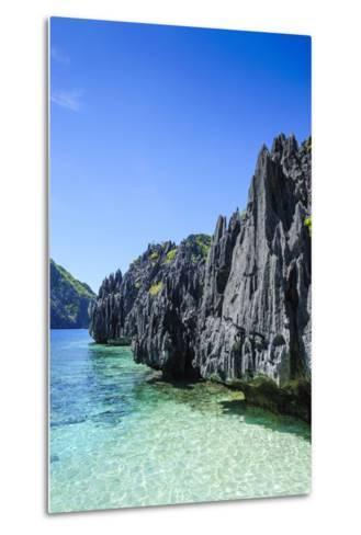 Clear Water in the Bacuit Archipelago, Palawan, Philippines-Michael Runkel-Metal Print