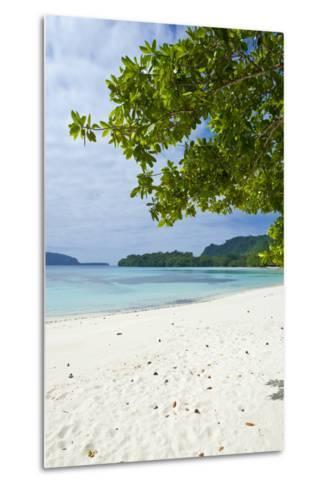 Island of Espiritu Santo, Vanuatu, South Pacific-Michael Runkel-Metal Print