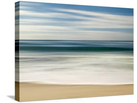 USA, California, La Jolla, Abstract Image of Blurred Wave at Marine St. Beach-Ann Collins-Stretched Canvas Print