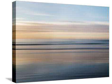 USA, California, La Jolla, Abstract of Incoming Waves-Ann Collins-Stretched Canvas Print