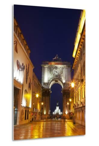 Lisbon, Rua Augusta-Terry Eggers-Metal Print