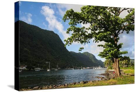 Pago Pago Bay, Tutuila Island, American Samoa, South Pacific-Michael Runkel-Stretched Canvas Print