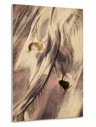 USA, California, Big Sur, Close-Up of Purple Sand at Pfeiffer Beach-Ann Collins-Metal Print