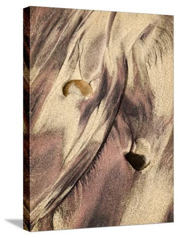 USA, California, Big Sur, Close-Up of Purple Sand at Pfeiffer Beach-Ann Collins-Stretched Canvas Print