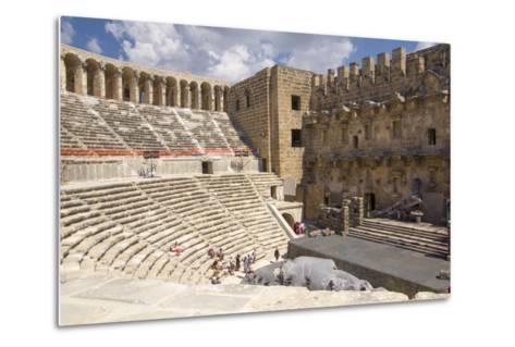 Turkey, Aspendos. Aspendos Theater in Anatolia-Emily Wilson-Metal Print