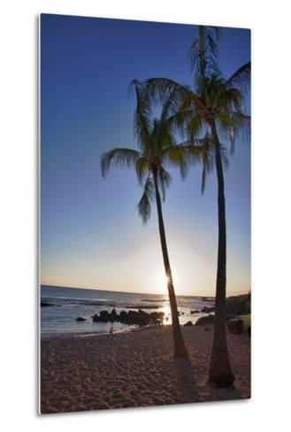 USA, Kauai, Evening Light on the Westside of Kauai-Terry Eggers-Metal Print