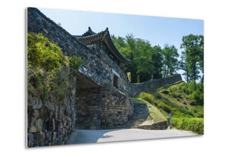 Gongsanseong Castle, Gongju, South Chungcheong Province, South Korea-Michael Runkel-Metal Print
