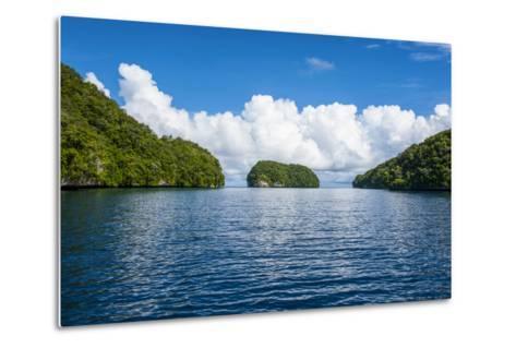 Rock Islands, Palau, Central Pacific-Michael Runkel-Metal Print