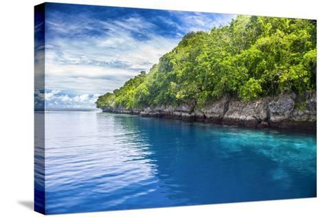 Rock Islands, Palau, Central Pacific-Michael Runkel-Stretched Canvas Print