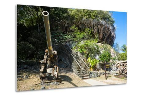 Last Japanese Command Post from Ww Ii, Saipan, Northern Marianas, Central Pacific-Michael Runkel-Metal Print