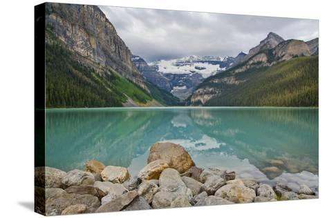 Lake Louise, Banff National Park, Alberta, Canada-Michel Hersen-Stretched Canvas Print