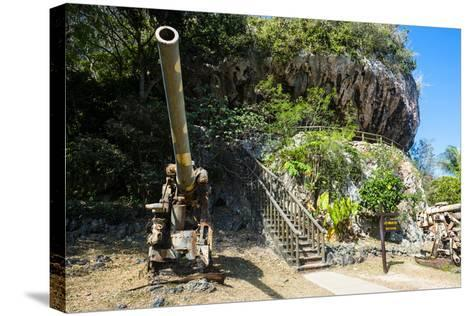 Last Japanese Command Post from Ww Ii, Saipan, Northern Marianas, Central Pacific-Michael Runkel-Stretched Canvas Print