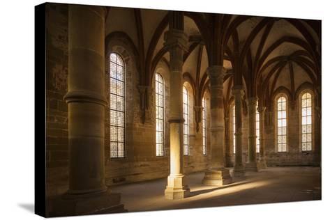 Germany, Baden-Wurttemburg, Maulbronn, Kloster Maulbronn Abbey, Cloister-Walter Bibikow-Stretched Canvas Print