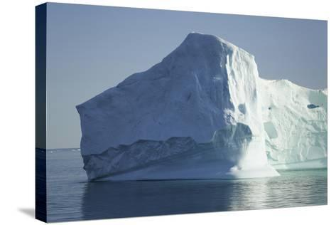 Greenland, Scoresby Sund, Large Floating Iceberg-Aliscia Young-Stretched Canvas Print
