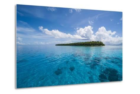 Little Islet in the Ant Atoll, Pohnpei, Micronesia-Michael Runkel-Metal Print