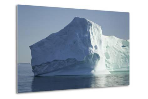 Greenland, Scoresby Sund, Large Floating Iceberg-Aliscia Young-Metal Print