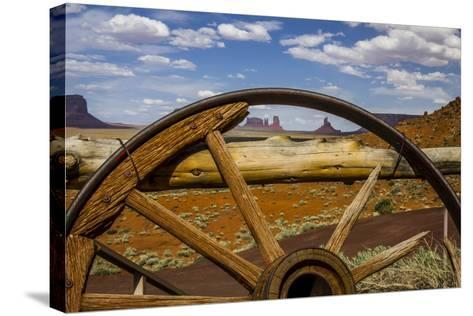 Monument Valley Tribal Park of the Navajo Nation, Arizona-Jerry Ginsberg-Stretched Canvas Print