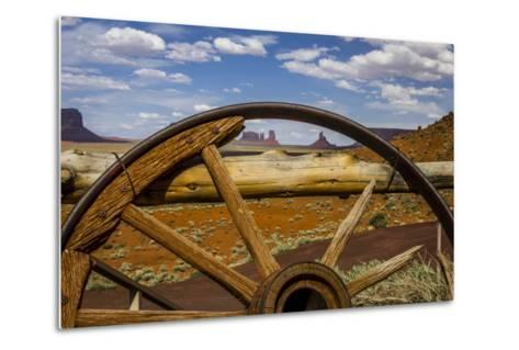 Monument Valley Tribal Park of the Navajo Nation, Arizona-Jerry Ginsberg-Metal Print