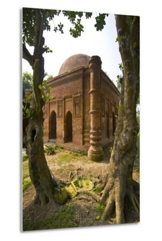 Old Mosque in Soneragon, Bangladesh, Asia-Michael Runkel-Metal Print