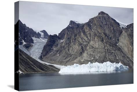 Greenland, Bjoren Oer, Receding Glacier-Aliscia Young-Stretched Canvas Print
