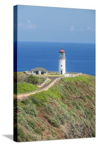 Hawaii, Kauai, Kilauea Lighthouse-Rob Tilley-Stretched Canvas Print