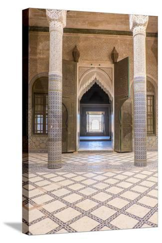 Morocco, Agdz, the Kasbah of Telouet-Emily Wilson-Stretched Canvas Print