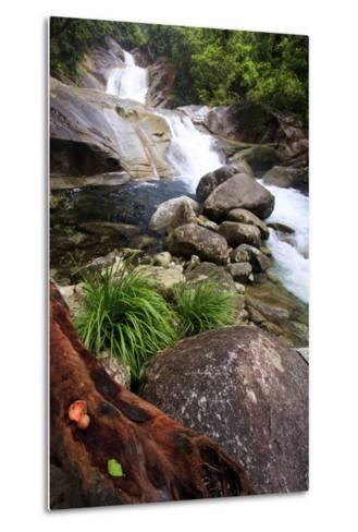 Josephine Falls Is One of the Most Popular Sets of Waterfalls on the South Side of Cairns-Paul Dymond-Metal Print