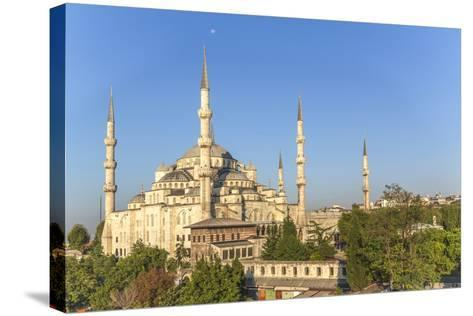 Turkey, Istanbul. the Sultan Ahmed Mosque Is a Historic Mosque in Istanbul-Emily Wilson-Stretched Canvas Print