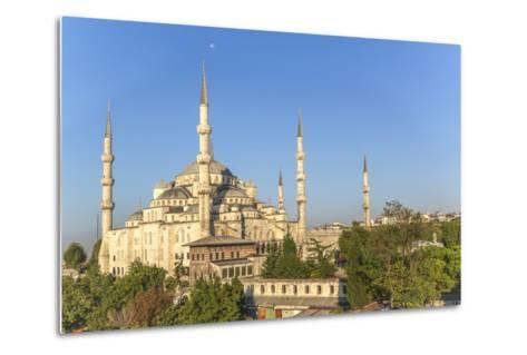 Turkey, Istanbul. the Sultan Ahmed Mosque Is a Historic Mosque in Istanbul-Emily Wilson-Metal Print
