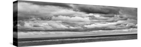 USA, California, San Diego, Panoramic Black-And-White View of Clouds over Pacific Ocean-Ann Collins-Stretched Canvas Print